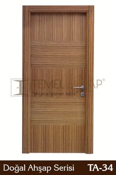 Doğal Ahşap Kapılar