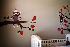 Sock Monkey Nursery!