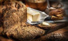 pan con manteca - La delicia del pan casero, con manteca.