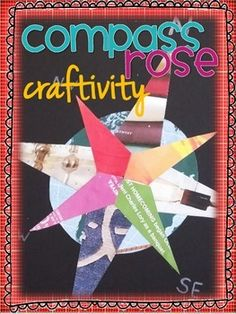 Instructions and templates for making a colorful compass rose out of old magazines.  This simple cut and glue activity helps reinforce how a compass rose works and the order of the cardinal directions.