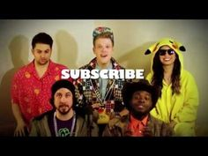 Pentatonix is a super cool band! I think they ate super cool and they just made a new video with lindsey sterling- radioactive so check it out! :) <3