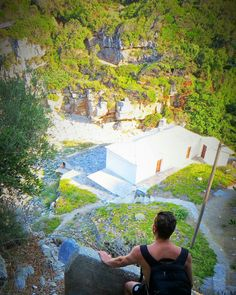 #traveller #ilovegreece  Close to Mylopotamos beach at Pelion in Greece