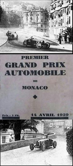 The inaugural 14 April 1929 Monaco Grand Prix was won by the only Britain taking part, William Grover-Williams in a Bugatti T35B (pictured), thwarting the Mercedes favourites and the French-dominated field. The 16 invited participants turned out to compete for a prize of 100,000 French francs at the first running of the legendary race.
