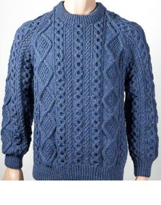 Quills Woollen Market – The Home of the Irish Sweater,Irelands Largest Selection of Authentic Aran Sweaters,Irish Sweaters,Fisherman Irish Sweaters. Hand Knitted Sweaters, Aran Sweaters, Gents Sweater, Cable Knitting Patterns, Knit Jacket, Pulls, Knitwear, Crochet, Stylish Clothes