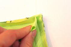 How to Sew Bias Tape {Part II}: Corner Edition