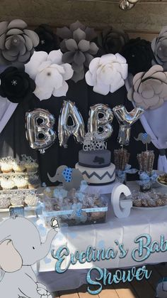 57 the little known secrets to baby shower ideas for girls themes 49 57 the little known secrets to baby shower ideas for girls themes 49 Contemporary Home Designs contemporaryhomedesigns Baby Shower Ideas nbsp hellip de Baby Shower Dumbo Baby Shower, Idee Baby Shower, Shower Bebe, Elephant Baby Showers, Baby Shower Decorations For Boys, Boy Baby Shower Themes, Baby Shower Centerpieces, Baby Shower Games, Babyshower Themes For Boys