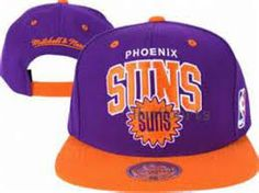 Purple and orange cap