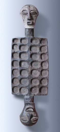 Wari Gameboard (Mancala-Gameboard),  tribe of the Songye-people, Kongo-Zaire