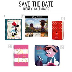 Save the Date With These Disney Calendars