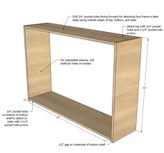 """Ana White   Build a 45"""" Wall Kitchen Cabinet   Free and Easy DIY Project and Furniture Plans"""