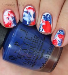 Happy Independence Day!: 4th of July Nail Art