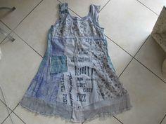 Tolles blaues Kleid von Bottega/Cavaletti in Gr. XL,Rarität Must Have | eBay