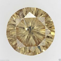JEWELRY GEMSTONE SPARKLING 2.65 CARAT I2 CLARITY LOOSE MOISSANITE ROUND SHAPE