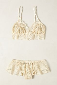 f2e830c39ccbc Crocheted Eris Set  anthropologie Pretty Lingerie