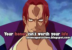 #shanks quotes #anime_quotes #otaku #anime_memes