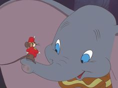 Talk about having the odds stacked against you. Dumbo started at a disadvantage and met some pretty mean animals along the way. Fortunately for this undeniably adorable pachyderm, a little change of perspective from a mouse named Timothy Q (and a magic feather) proved to be all Dumbo needed to soar.