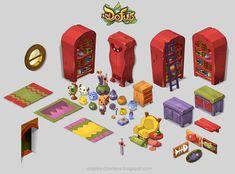 Dofus Kerubim animated series art assets