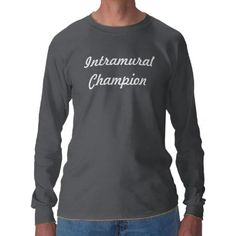 Intramural Champion Tees