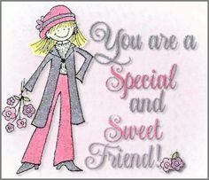 From my dear sweet Sis Teresa Paris!