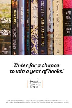 Ready to build your own literary landscape? Now that we're merging our libraries at penguinrandomhouse.com, we want to help you create and polish your own home collection. Enter for a chance to win a year of books from Penguin Random House!