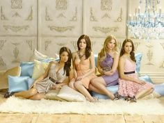Pretty Little Liars....Better to watch the drama, than cause the drama.
