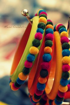 Posts about bangles written by dhruvashra and manvigandotra Silk Thread Bangles Design, Silk Bangles, Silk Thread Earrings, Fabric Earrings, Bridal Bangles, Diy Fabric Jewellery, Fancy Jewellery, Thread Jewellery, Moda Peru