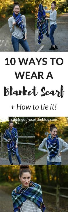 how to wear a blanket scarf, how to wear a blanket scarf tutorials, ways to wear a blanket scarf, blanket scarf, blanket scarf outfit, fall outfit ideas, blanket scarf fall