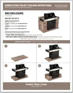 DIY Grill Surround #grill #outdoorkitchens #DIY repins and pins by http://whiteglovegrillcleaning.com