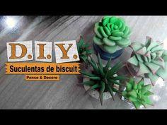 Succulent brooch tutorial - suculenta arcilla polimerica - YouTube
