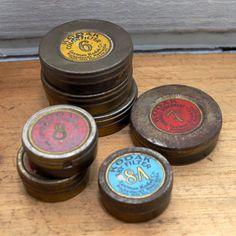 Antique Kodak Filter Tins 7Pc