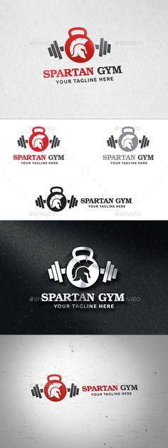 Spartan Gym - Logo Template by martinjamez Logo Features100% Vector Color Variations : Gradient, Flat, Greyscale