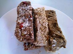 Gluteeniton ja maidoton riisiproteiinipatukka kolmella tapaa
