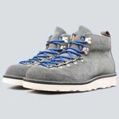 Fracap M120 Vibram Sole Scarponcino Boot - Grey Suede