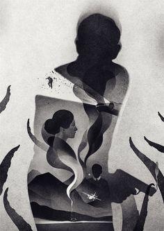 The Illustrations of Karolis Strautniekas.The clever and...