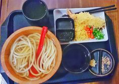 Yammie brunch. magurame udon indonesia!