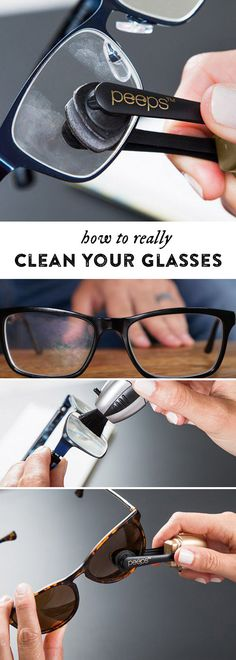 Get your lenses crystal clear—on both sides—without sprays or cloths. Carbon particles attract dirt and give a fresh cleaning surface each time.