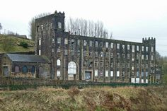 Fothergill and harveys by the Rochdale Canal, Littleborough by Tim Green Abandoned Buildings, Abandoned Places, Places Around The World, Around The Worlds, Uk Culture, Factory Architecture, Rochdale, Industrial Architecture, Our Town