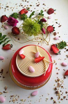 Rouge dragée : fraises
