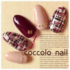 Show Your Creativity With Hand Painted Nail Art Designs Asian Nail Art, Asian Nails, Manicure, Pedicure Nail Art, Cute Nails, Pretty Nails, Office Nails, Self Nail, Crazy Nail Art