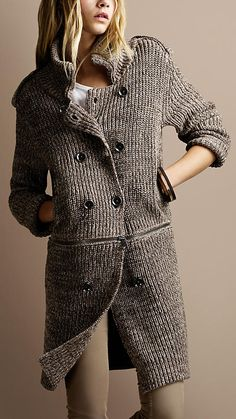 Two different jackets! / Inspiration pin for advanced knitters.