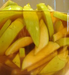 If you are interested in trying a simple liqueur and don't know where to start, apples are a great ingredient. The photo above may appear to be tart green apples, but these are actually a sweet gre...