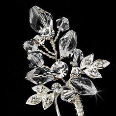Elegant Crystal & Rhinestone Hair Pin 61
