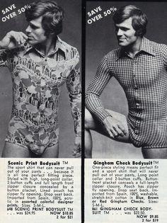 Bodysuits...MEN'S Bodysuits...
