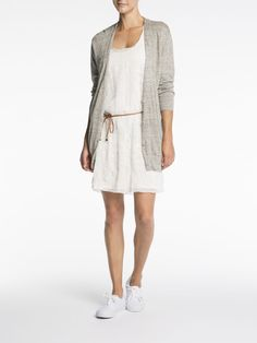 Long Knitted Cardigan | Pullover | Woman Clothing at Scotch & Soda