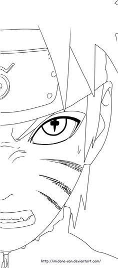 Naruto Kakashi coloring page - Google Search | Drawings | Pinterest ...