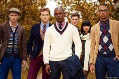 Men's Preppy Clothing