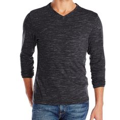 eb027fdd3368c Vince Camuto Long Sleeve Sweater Vince Camuto men s v-neck long sleeve tee  shirt in