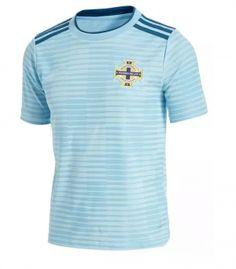 8cfff6e7749 2018 Soccer Jersey Northern Ireland Away Replica Blue Shirt 2018 Soccer  Jersey Northern Ireland Away Replica Blue Shirt