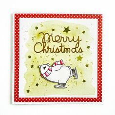cardmaking / Pohľadnica Merry Christmas