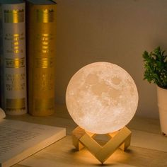 Apollo Box moonlight Moon lamp OFFWith this moon lamp you can take the moon with you. Let it brighten up your favorite room.Ultrasonic moon lamp humidifier essential oil diffuser Moonlight from Apollo Box Home Decor Accessories, Decorative Accessories, Decorative Items, Cheap Home Decor, Diy Home Decor, Unique Home Decor, Modern Chic Decor, Deco Led, Lunar Moon